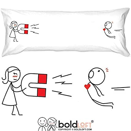 BoldLoft Youre Irresistible Body Pillowcase Boyfriend Gifts Husband Funny Valentines
