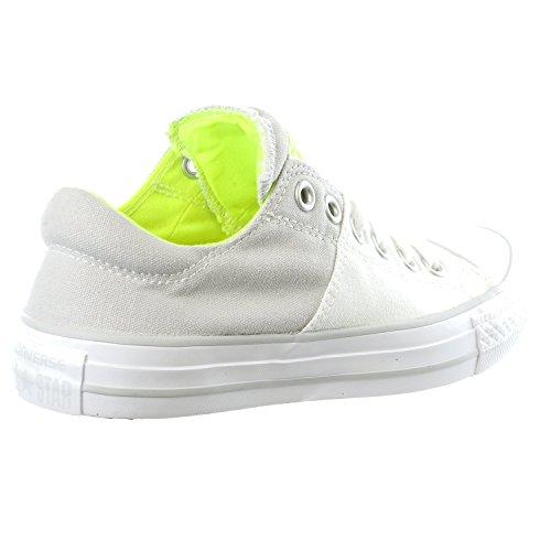 Converse Femmes Chuck Taylor Toutes Les Stars Madison Fashion Sneaker Chaussure Blanc / Souris / Volt