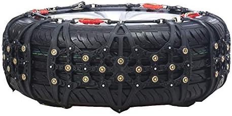 タイヤチェーン アンチスキッド車のスノーチェーン、緊急時のトラクション 145/70 R42 (Size : 145/70 R42)