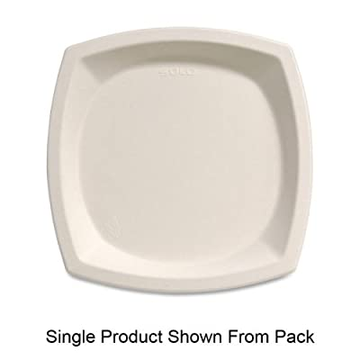 Solo 10PSC-2050 10 in Ivory Bagasse Plate (Case of 500)