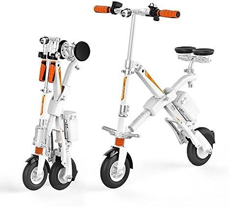 Run & Roll Bike X Bicicleta eléctrica Plegable, Hombre, Blanco, 8 ...