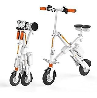 Run & Roll Bike X Bicicleta eléctrica Plegable, Hombre, Blanco, ...