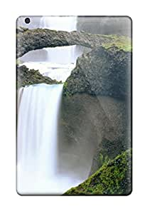 Awesome Iceland Waterfall Flip Cases With Fashion Design For Ipad Mini
