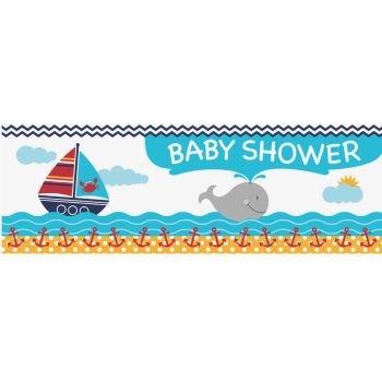 Ahoy Matey Baby Shower Giant Banner