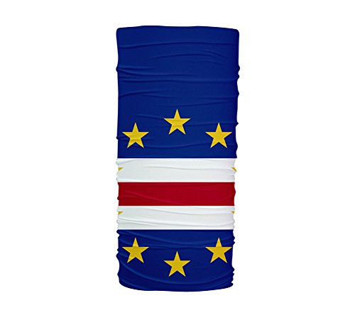 Cape Verde Flag Multifunctional UV Protection Headband