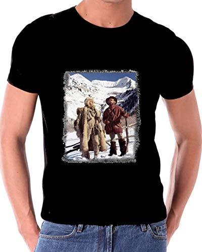 Jeremiah Johnson Robert Redford T Shirt Black