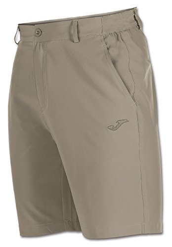 TALLA M. Joma - Pantalon Corto Pasarela Beige para Hombre