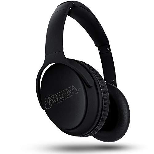 Santana OYE by Carlos Santana Bluetooth Headphones Active Noise Cancelling Headphones Thundering Bass Integrated…