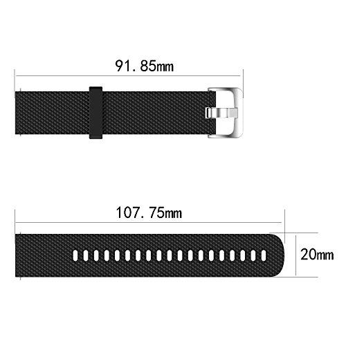 Bracelet pour Garmin Vivoactive 3/Garmin Vivomove/Garmin Vivomove HR,Bracelet de Rechange pour Garmin Vivoactive 3/Garmin Vivomove/Garmin Vivomove HR