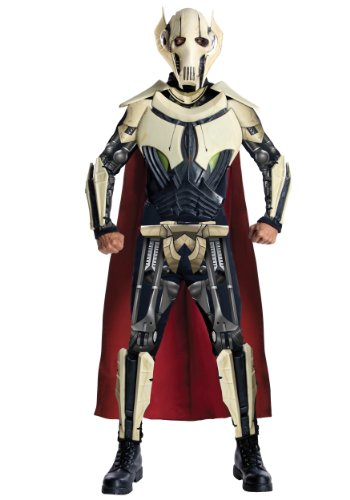(Star Wars Adult Deluxe General Grievous Costume, Multi,)