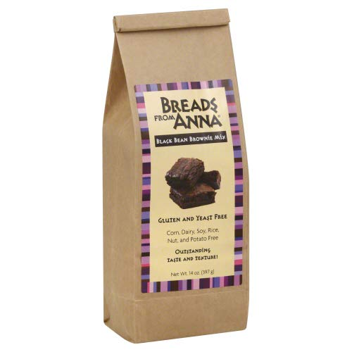 Breads From Anna Mixed Brownie Black Bean 14 OZ (Pack of 6)