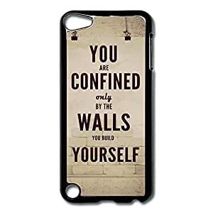 IPod Touch 5 Cases Sayings Design Hard Back Cover Shell Desgined By RRG2G