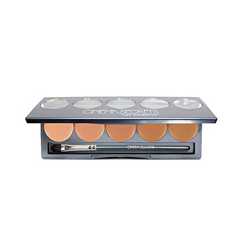 400 Series Matte - Ultimate Foundation 5-in-1 PRO Palette, 400 Series (MEDIUM BEIGE PEACH UNDERTONES)