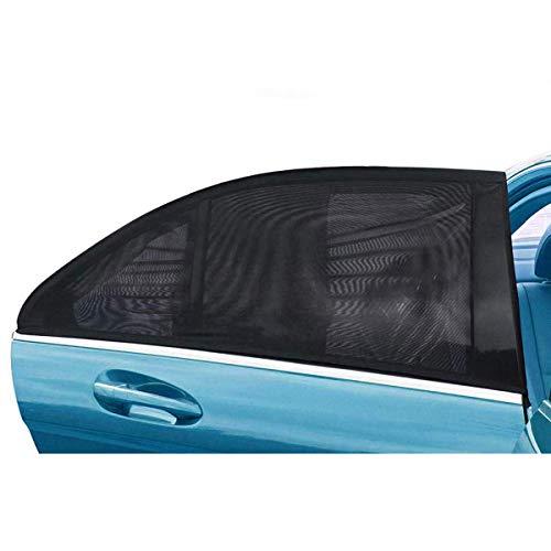 (Vantap Car Sun Shade - 2 Pack Car Window Sunshades,Rear Window Sun Shade,Universal Car Rear Side Window Sunshade for Baby Kids and Pets,Fit Most Small & Medium Cars)