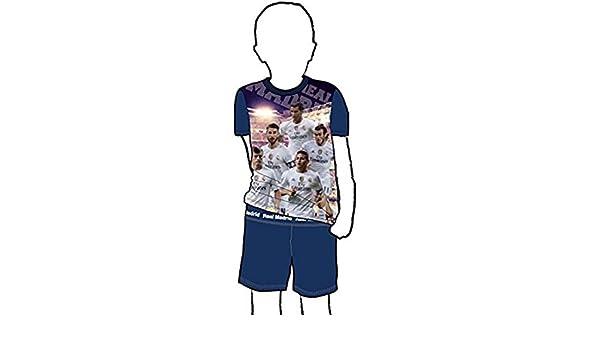 Pijama Niño del REAL MADRID Oficial JUGADORES (4): Amazon.es: Ropa y accesorios