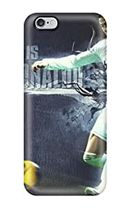 Hot Selling Snap-on Cristiano Ronaldo Desktop Hard Cover Case/ Protective Case For Iphone 6 Plus