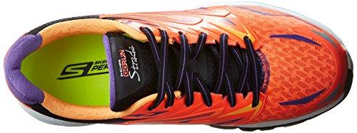 Skechers Go Run Strada - entrenamiento/correr de sintético mujer Hot Pink / Purple