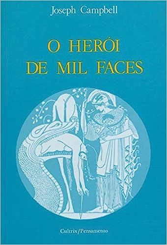 """Capa do livro """"O herói de mil faces"""", de Joseph Campbell"""