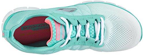 Skechers Weiß Wmt Damen Sneakers Flex Appeal vawq7a
