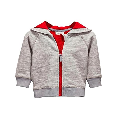 Free Nibox Baby Boys Long Sleeve Dinosaur Hoodies Toddler Zip-up Jacket Clothes