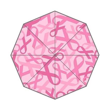 El Cáncer De Mama lazo rosa anti lluvia paraguas plegable paraguas