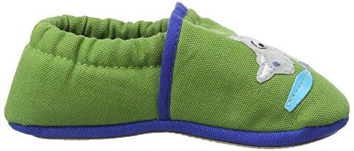 Giesswein Beuren - Zapatillas de casa Bebé-Niñas Verde - Grün (gras-467)