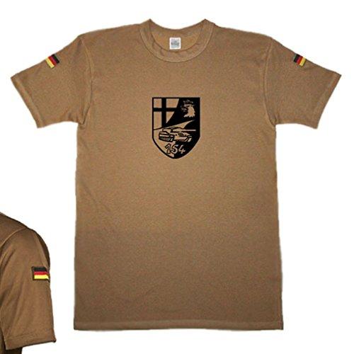 (BW tropic Breast PzBtl 154 Tank battalion crest emblem badge original)