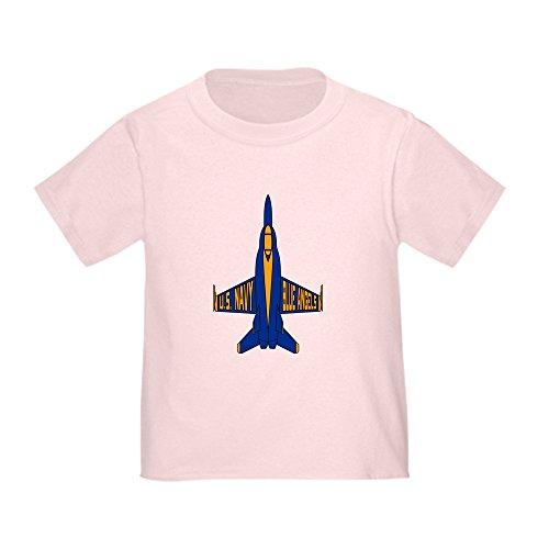 CafePress U.S. Navy Blue Angels Jet Cute Toddler T-Shirt, 100% Cotton