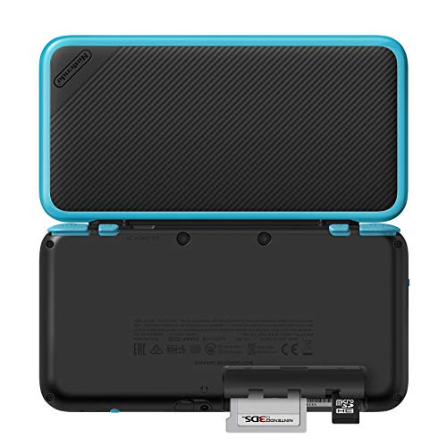 New Nintendo 2DS XL - Black + Turquoise With Mario Kart 7 Pre-installed - Nintendo 2DS (Renewed) by Nintendo (Image #3)