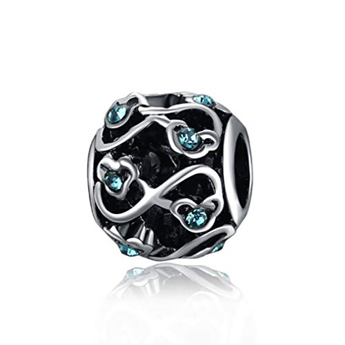 Fit Pandora Dragonfly Beads Jewelry French Bead 925 Silver Perfumes Bracelet Charms ()