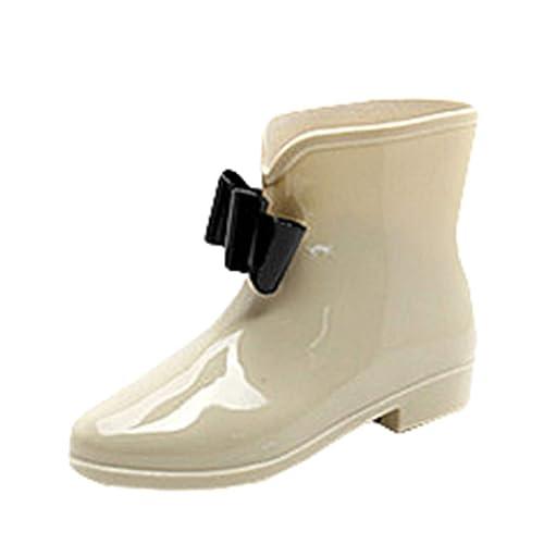 Stivali di Gomma da Donna Impermeabile Antiscivolo Stivali