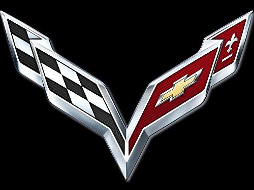 Corvette Bestickte Fun Poloshirt, 100% Baumwolle super Premium-Qualität -074