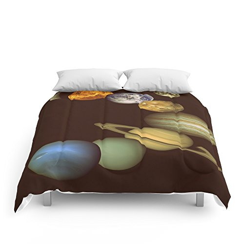 Society6 The Solar System Comforters Full: 79'' x 79'' by Society6