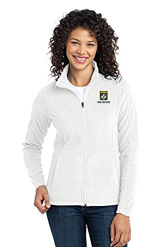 Custom Embroidered Port Authority Ladies Microfleece Jacket - Pack Of (Custom Embroidered Fleece Jacket)