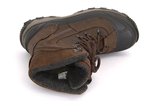 Homme Marche Hiver De Pour Meindl Foncé Chaussures Marron EXqPwXIx