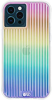 Case-Mate - Tough Groove - Case for iPhone 12 Pro Max (5G) - 10 ft Drop Protection - 6.7 Inch - Iridescent