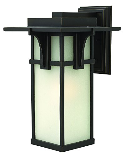 Hinkley 2235OZ-LED Craftsman/Mission One Light Wall Mount from Manhattan collection in Bronze/Darkfinish,