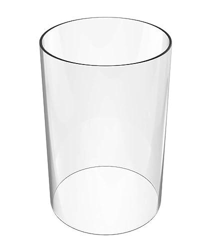 Amazon.com: Vela sin llama con forma de conos – jarrón ...