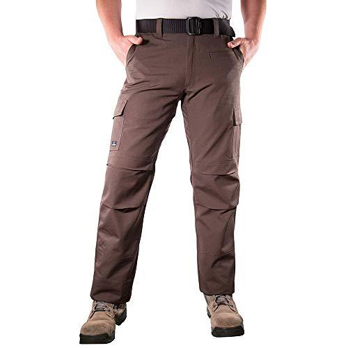 (LA Police Gear Urban Recon Cotton Canvas Tactical Cargo Work Pant - Sierra - 30 x 34)