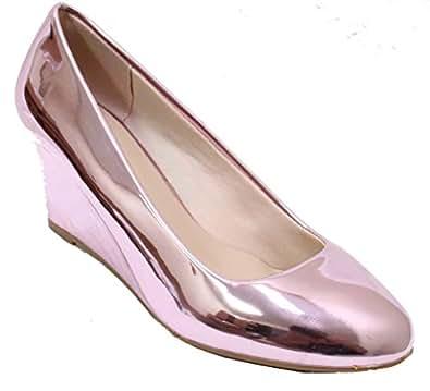 Forever Link Womens Doris-22 Doris-26 Pink Size: 6