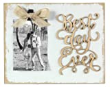 Wood Best Day 4X6 Photo Clips