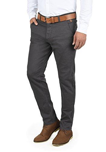 Kainz Pour Homme Régulaire Blend Ebony Extensible Pantalon 75111 Grey Coupe Chino RZ1xapq