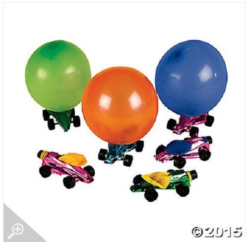 Metallic Race Car Balloon Racers (1 (Balloon Racers)
