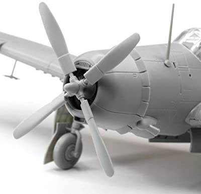 Cyber Hobby Models SB2C-3 Helldiver Model Building Kit, Wing Tech Series, Scale 1/72