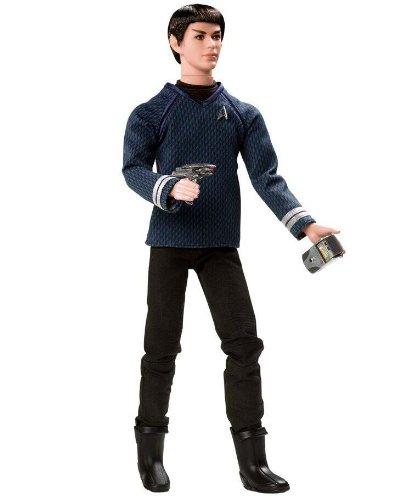Barbie Doll Ken As Star Trek's (Mr Spock Costume Ears)