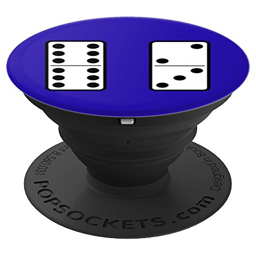 Dominoes Player - Dominoes Player - PopSockets Grip and Stand for Phones and Tablets