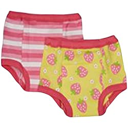 green sprouts Training Pants, Yellow Strawberry, 3T, 2 Count
