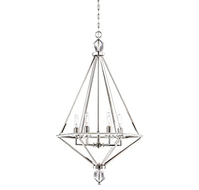 Savoy House Tekoa 6-Light Pendant in Warm Brass 7-680-6-322