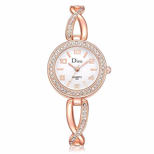 Women's Quartz Watch,ODGear Ladies Cheap Wrist Watch Rhinestone Bracelet NW19
