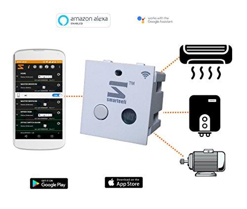 Smarteefi Wifi Smart Switch 16A, Works With Alexa, Smart Plug For Smart Home Automation